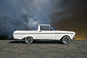 Family Car Posters - 1965 Ford Ranchero II Poster by Dave Koontz