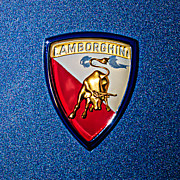 1965 Photos - 1965 Lamborghini 350 GT Emblem by Jill Reger
