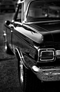 Monochrome Hot Rod Framed Prints - 1965 Plymouth Satellite  Framed Print by Gordon Dean II