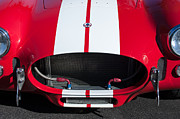 1965 Photos - 1965 Shelby Cobra Front Grille - Emblem by Jill Reger