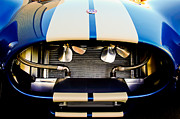 Sports Car Framed Prints - 1965 Shelby Cobra Grille Framed Print by Jill Reger