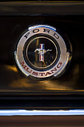 1965 Metal Prints - 1965 Shelby prototype Ford Mustang Emblem 2 Metal Print by Jill Reger