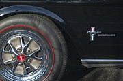 Prototype Prints - 1965 Shelby prototype Ford Mustang Wheel 2 Print by Jill Reger