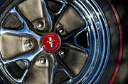 Prototype Prints - 1965 Shelby prototype Ford Mustang Wheel Print by Jill Reger