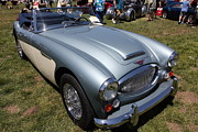 European Car Photos - 1966 Austin Healey 3000 BJ8 Convertible 5D23202 by Wingsdomain Art and Photography