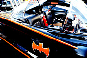 Bat Mobile Framed Prints - 1966 Batmobile 10 Framed Print by Cindy Nunn