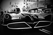 Bat Mobile Framed Prints - 1966 Batmobile 15 Framed Print by Cindy Nunn
