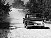 Carolyn Pettijohn - 1966 Chevy Pickup - Black and White