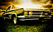 Mopar Metal Prints - 1966 Chrysler 300 Metal Print by Phil