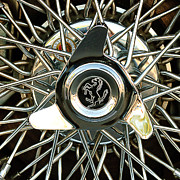 Super Photos - 1966 Ferrari 330 GTC Coupe Wheel Rim Emblem by Jill Reger