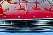 500 Photos - 1966 Ford Galaxie 500 Convertible Grille by Jill Reger
