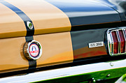 Tail Photos - 1966 Shelby GT350 Taillight Emblem by Jill Reger