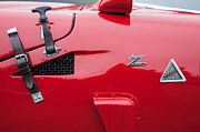 1967 Prints - 1967 Alfa Romeo TZ2 Zagato Coupe Side Emblems Print by Jill Reger