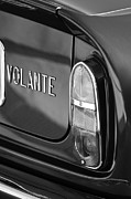 1967 Photos - 1967 Aston Martin DB6 Volante Taillight Emblem by Jill Reger