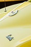 1967 Chevrolet Corvette Sport Coupe Emblem 2 Print by Jill Reger
