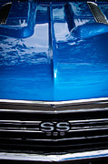 Blue Chevy Prints - 1967 Chevy Chevelle SS Print by David Patterson