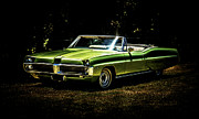 Aotearoa Photo Metal Prints - 1967 Pontiac Bonneville Metal Print by motography aka Phil Clark