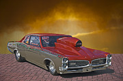 Alloy Framed Prints - 1967 Pontiac GTO Framed Print by Dave Koontz
