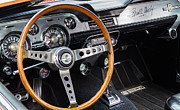 Signed Photos - 1967 Shelby GT 350 Signed Dash by Roger Mullenhour