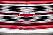 Old Trucks Photos - 1968 Chevy Truck Grille by Rich Franco