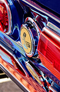 Cobra Photo Posters - 1968 Ford Mustang Cobra GT 350 Taillight Emblem Poster by Jill Reger