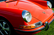 Automobiles Prints - 1968 Porsche 911 Front End Print by Jill Reger