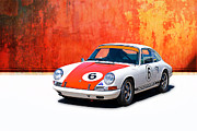 Classic Porsche 911 Photos - 1968 Porsche 911 by Stuart Row