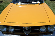 Alfa Romeo Gtv Posters - 1969 Alfa Romeo 1750 GTV Coupe 5D23173 Poster by Wingsdomain Art and Photography