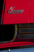 Rally Prints - 1969 Chevrolet Camaro Rally Sport Emblem Print by Jill Reger