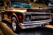 Vintage Pickups Prints - 1969 Chevrolet Pickup IV Print by David Patterson