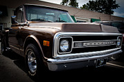 Vintage Pickups Prints - 1969 Chevy Pickup Print by David Patterson