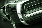 Dodge Super Bee Emblem Prints - 1969 Dodge Charger 500 Print by Gordon Dean II