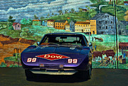 1969 Photos - 1969 Dodge Daytona Stock Car Replica by Tim McCullough