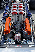 Indy Car Prints - 1969 Eagle MK5 F5000 Race Car Engine Print by Tad Gage