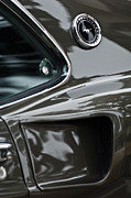 1969 Ford Mustang Mach 1 Emblem 2 Print by Jill Reger