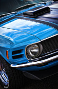 All Ford Day Posters - 1970 Boss 302 Ford Mustang Poster by Gordon Dean II
