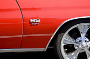 Chevelle Posters - 1970 Chevelle Malibu SS 454 Poster by Rich Franco