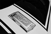 Muscle Car Framed Prints - 1970 Chevrolet Camero Hood Emblem Framed Print by Jill Reger