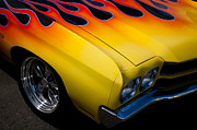 Chevelle Framed Prints - 1970 Chevrolet Chevelle Framed Print by David Patterson