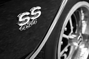 1970 Photos - 1970 Chevrolet Chevelle SS 454 Wheel Emblem by Jill Reger