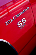 454 Photos - 1970 Chevrolet El Camino SS 454 Emblem by Jill Reger