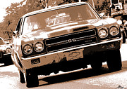 V8 Chevelle Posters - 1970 Chevy Chevelle SS 396 Poster by Gordon Dean II