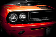 Shows Prints - 1970 Dodge Challenger 440 Print by Kamil Swiatek