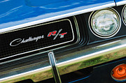1970 Dodge Challenger Rt Convertible Grille Emblem Print by Jill Reger