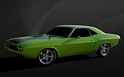 Mopar Metal Prints - 1970 Dodge Challenger RT Metal Print by Tim McCullough