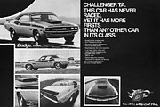 1970 Dodge Challenger T/a Print by Digital Repro Depot