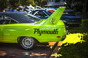 Motors Framed Prints - 1970 Plymouth Road Runner Hemi Super Bird  Framed Print by Rich Franco