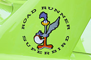 Racers Prints - 1970 Plymouth Superbird Roadrunner Print by Rich Franco
