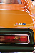 Autos Art - 1971 AMC Javelin AMX Taillight Emblem by Jill Reger