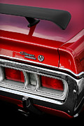 Dodge Super Bee Emblem Prints - 1971 Dodge Charger SE Print by Gordon Dean II